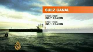 Egypt suffers from Suez Canal revenue loss - 26 Jul 09