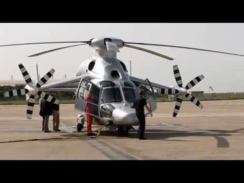 Eurocopter   X3 Hybrid Helicopter Attained Speed Milestone Of 255 Knots 472 km h) [720p]