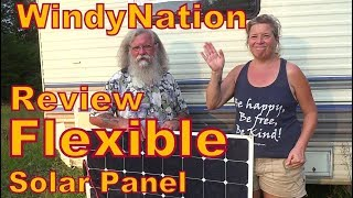 Long-Term Test of WindyNation Flexible Solar Panel Report