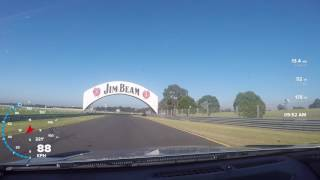 HSV LSA CLubsport takes on Sandown trackday part 1