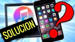 iTunes no reconoce mi iPhone | SOLUCIÓN