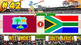 vuclip ICC Cricket World Cup 2015 (Gaming Series) - Pool B Match 42 West Indies v South Africa
