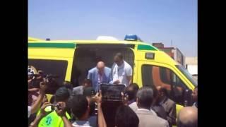 محافظ الاسماعيلية ووزر الصحة واللواء كامل الوزيرى يفتتحون عيادات القناة الجديدة