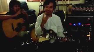 Recording Guitars w/Bunkface @ Studio 2105