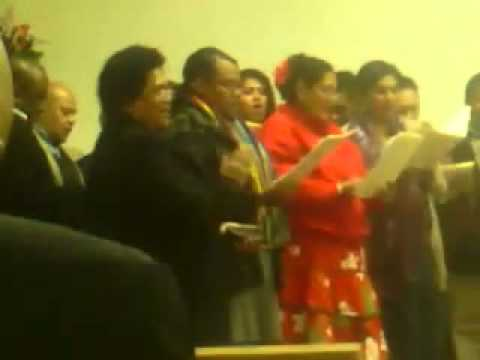 Florin Church Choir. SACRAMENTO, California
