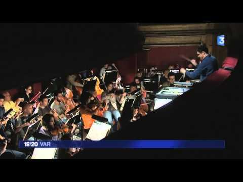 Emmanuel Plasson Conductor - Interview Les Contes d'Hoffmann avec France 3