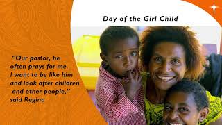 2018 Day of The Girl Child: Regina Conquers Tuberculosis