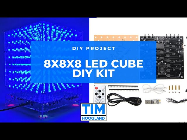 8x8x8 LED Cube DIY Kit | DIY Project | Part 1