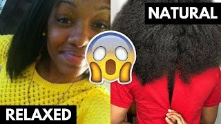 RELAXED TO NATURAL TRANSITION WITHOUT THE BIG CHOP   Transitioning Hair Care Tips