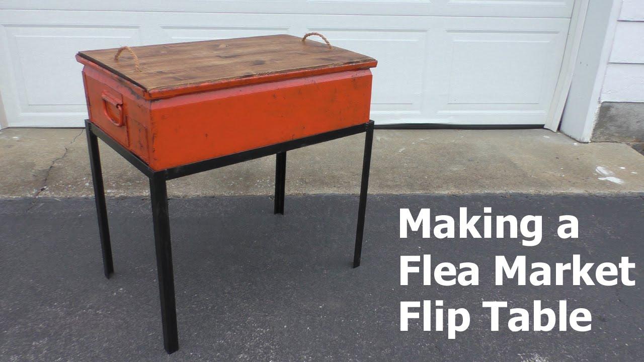 Amazing Flea Market Flip Table   YouTube