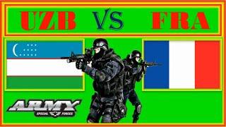 Узбекистан VS Франция Сравнение армии и вооруженных сил