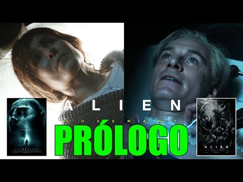 PRÓLOGO: THE CROSSING - ALIEN COVENANT - RIDLEY SCOTT - NOOMI RAPACE - FASSBENDER - DAVID & SHAW