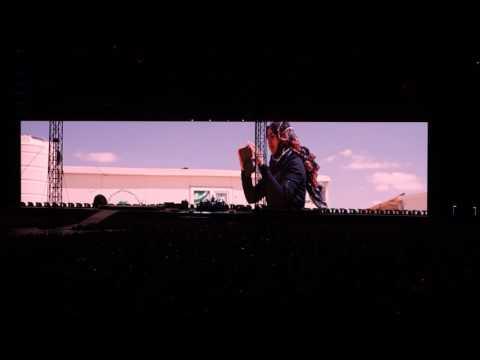 U2 - Miss Sarajevo/Syria - The Joshua tree Tour - Roma - 16 Luglio 2017