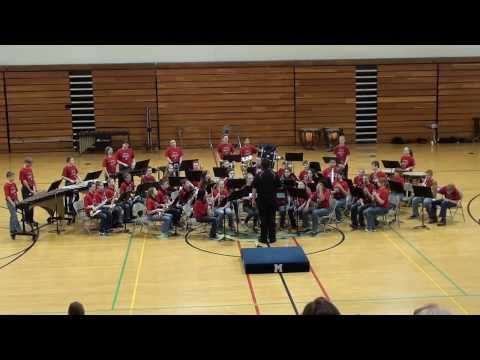 St. James Middle School 7th & 8th Grade Bands -- 2014 Marshfield Middle School Music Festival