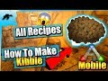 Ark Mobile | How To Make Kibble + All Recipes | iOS/Android Noob Guide