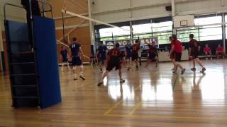 Churchie First VI Volleyball