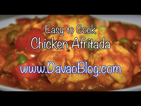 Chicken afritada apritada youtube chicken afritada apritada the food recipe forumfinder Gallery