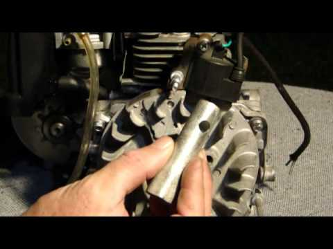 Motor Bicimoto 50cc. 4 tempos - Pull start, refrigeração e sistema elétrico