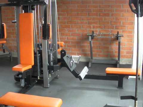 Promocion de maquinas para gimnasio industrias fitness en for Maquinas para gym