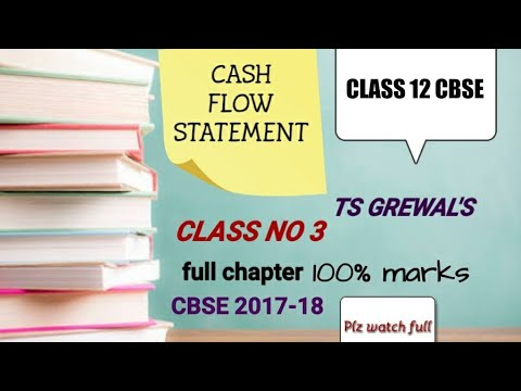 Class 12 Accounts - CASH FLOW STATEMENT- CASH FLOW FROM OPERATING ACTIVITIES CLASS 3