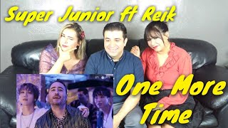 SUPER JUNIOR ft REIK 'ONE MORE TIME' REACTION