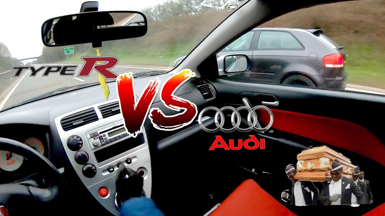 Download 3.2 V6 AUDI A3 VS EP3 CIVIC TYPE R *CRAZY RESULTS!*