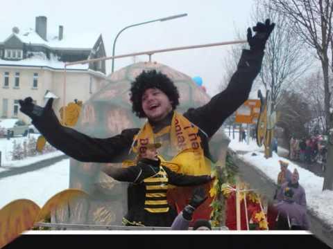 Karneval 2010 Biene Maja Wagen Wmv Youtube
