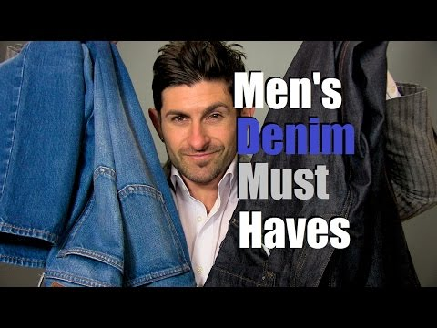 2 Denim Must Haves | Mens Wardrobe Essentials | 2 Pairs Of Perfect Jeans
