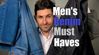 2 Denim Must Haves | Men