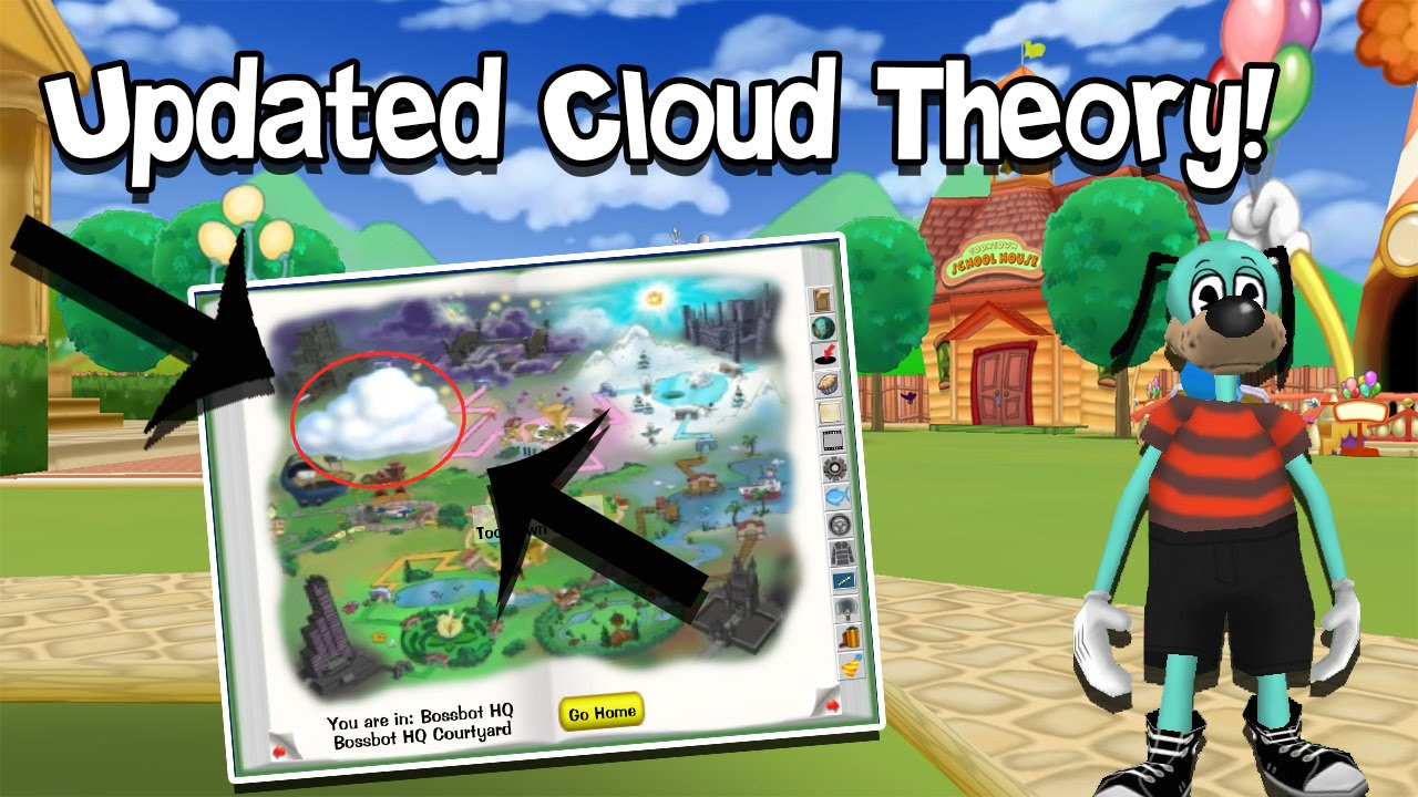 Toontown Theory The Cloud Updated Toontown Rewritten Theories