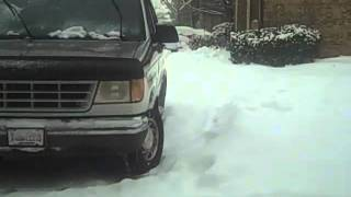 Worst Snow in Tulsa's History - 2-4-11 - #2