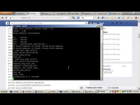 How to debrick TP-Link MR3040v2 - YouTube