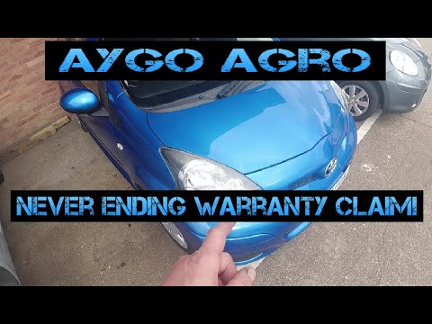 Aygo Agro! The Warranty Claim Continues!