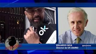 Eduardo Inda: Risto Mejide es un mafioso y ha caído en la trampa de Okdiario como un pardillo