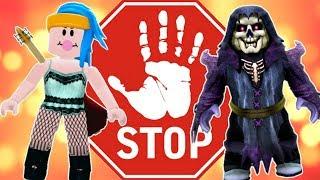DESAFIO DO STOP NO ROBLOX #04 (HIGH SCHOOL)