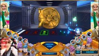 POP SLOTS CASINO HEIST BONUS : Finally completed the hardest mission