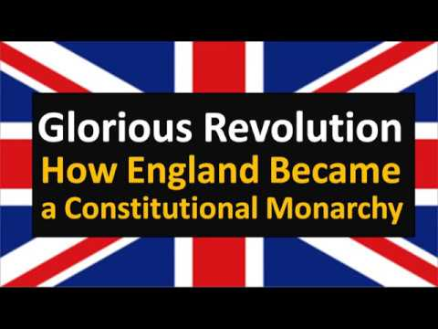 Glorious Revolution(Hindi) : How England became a Constituti