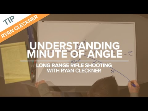 Understanding Minute Of Angle (MOA) | Long-Range Rifle Shooting With Ryan Cleckner