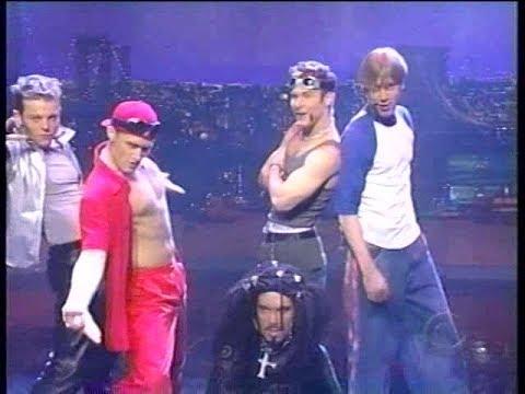 """Fresh Step Spoof Boy Band """"Ya Gotta Be Fresh"""" (3/1999) Letterman"""