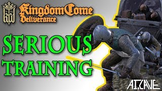 Kingdom Come: Deliverance - Henry Learns to use a Sword - Best Let's Play