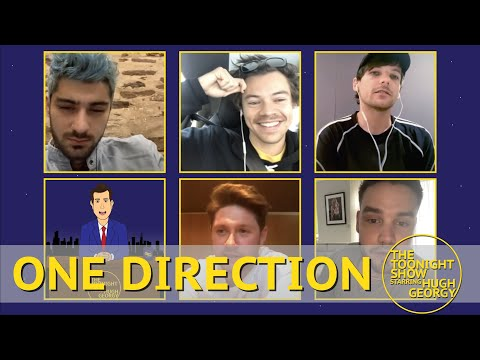 One Direction Reunion on The Toonight Show indir