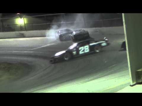Redwood Acres Raceway 7-27-13 Roger Sanderson And David Miller Get Together