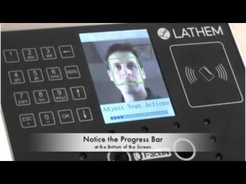 Lathem FR700 Face Recognition System - Zerbee.com
