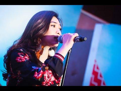 Isyana Sarasvati  - Tetap Dalam Jiwa (Live At Yamaha Mio S Special Concert Semarang) Cantik Banget
