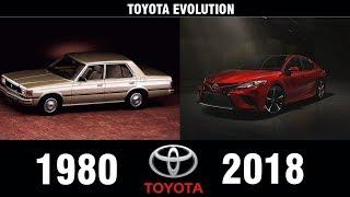 TOYOTA Evolution (1980-2018)   Hatchbacks, Wagons, Sedans & Convertibles
