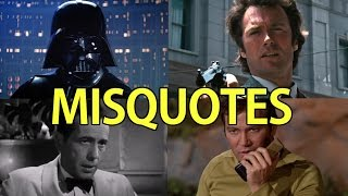 Famous Movie/TV Misquotes (PART 2)