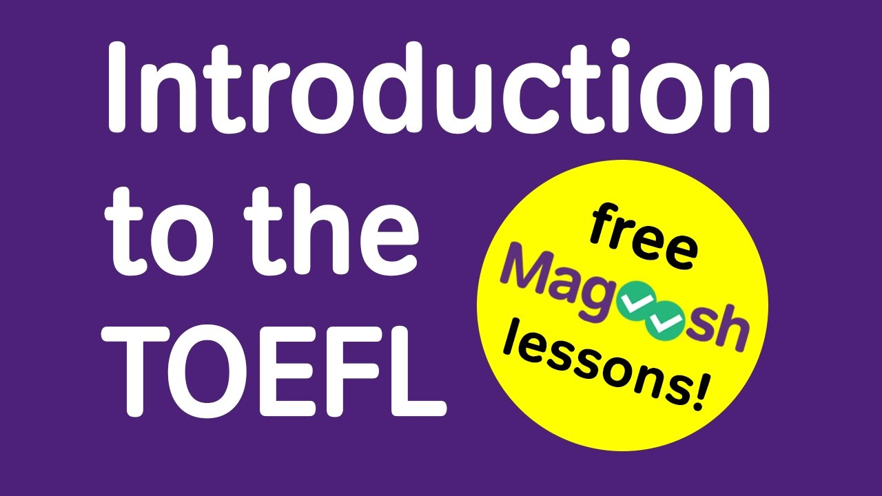 Introduction to the TOEFL - Free Premium Lesson Series