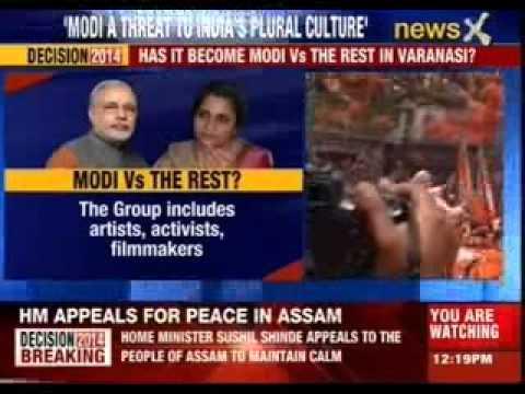 Lok Sabha election 2014: Artists, activists oppose Modi in Varanasi
