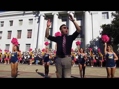Cal Band Sproul Hall Rally vs. Arizona 2017 Berkeley California (The Latin Experience)