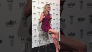 Carla Pereyra presenta Braun